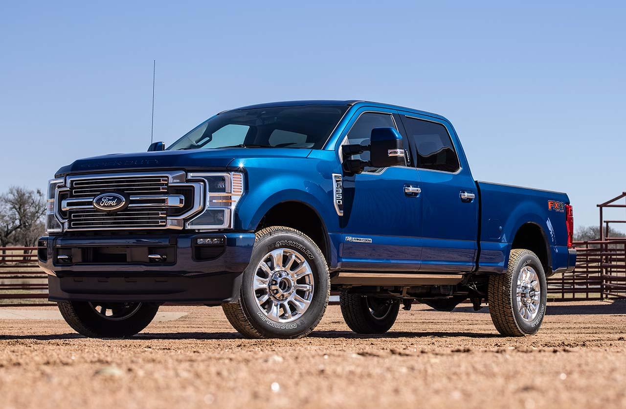 Así son las nuevas Super Duty de Ford