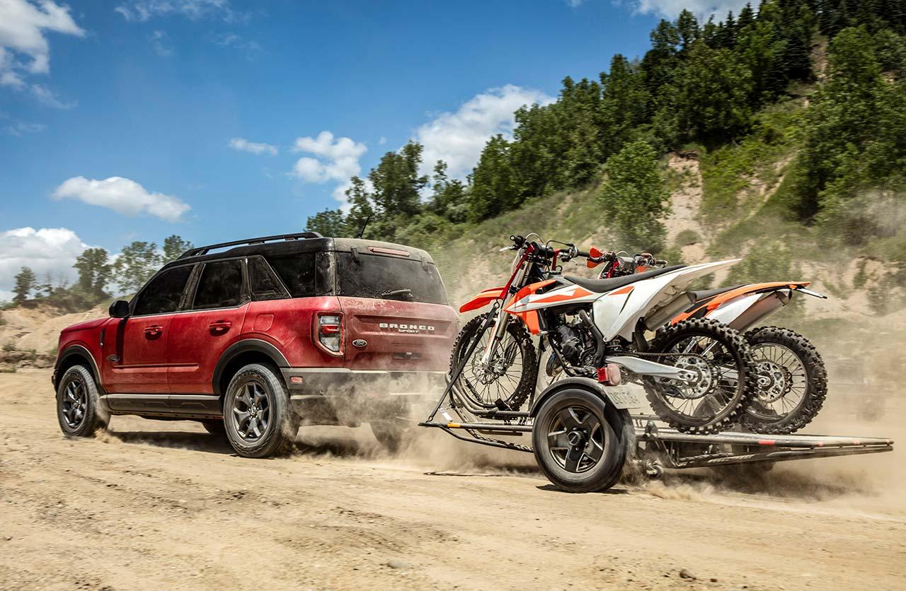 Ford Bronco Sport remolque