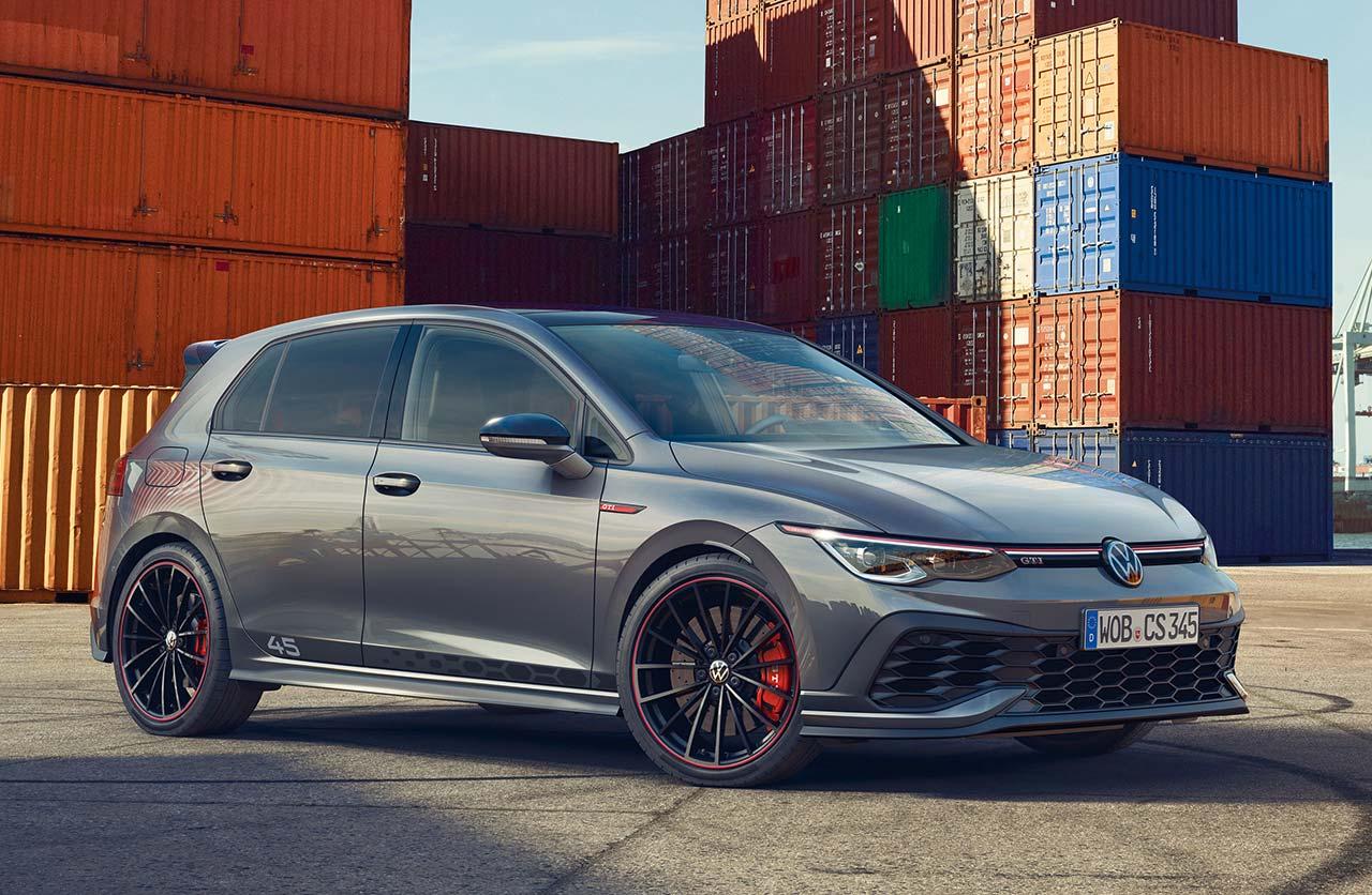 Volkswagen Golf GTI Clubsport 45: la celebración
