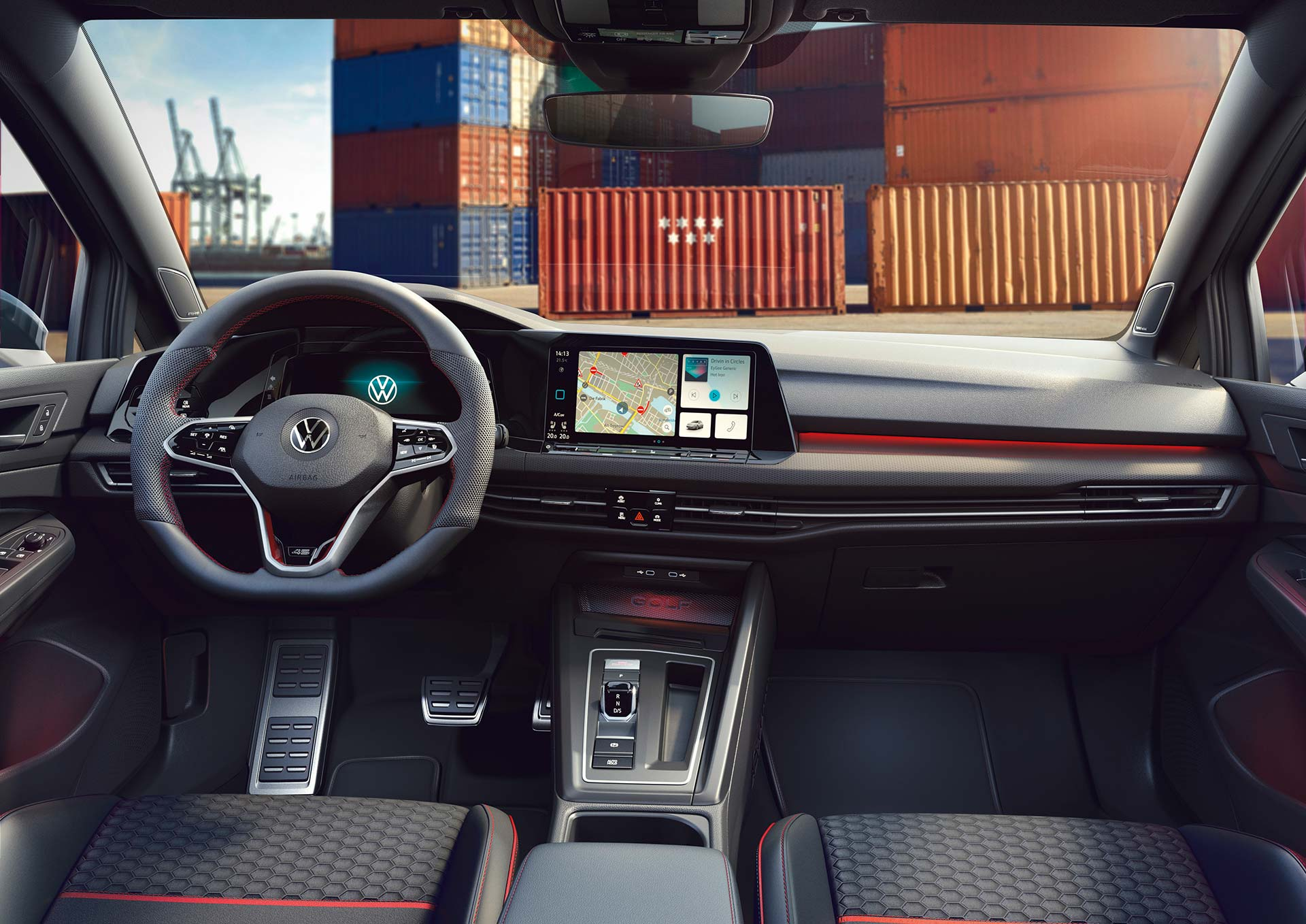 Interior Volkswagen Golf GTI Clubsport 45