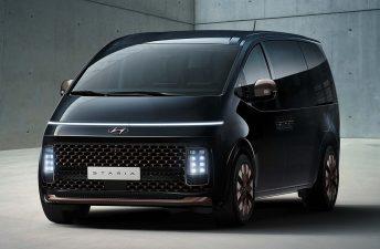 Hyundai Staria, con look espacial
