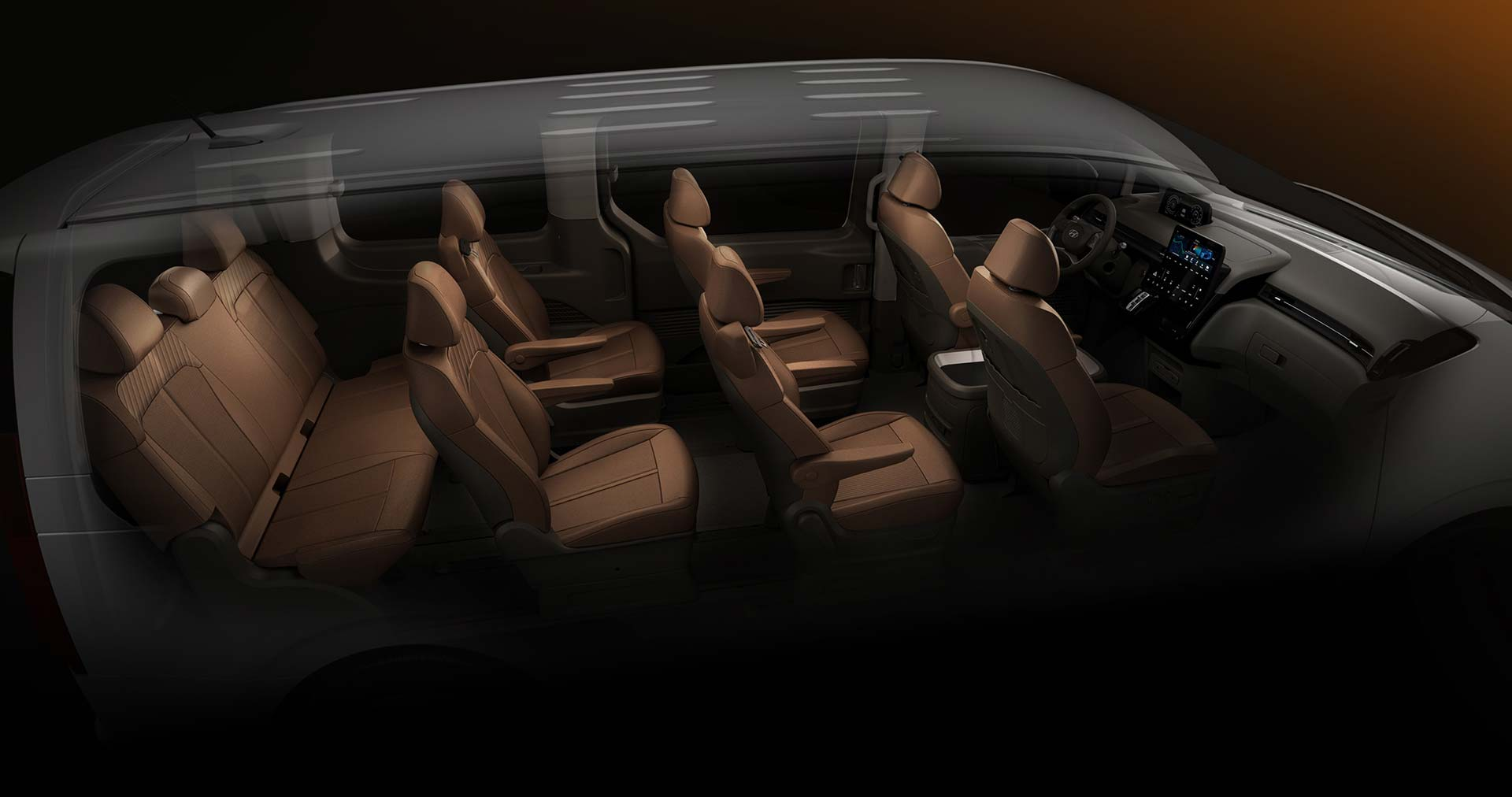 Interior Hyundai Staria