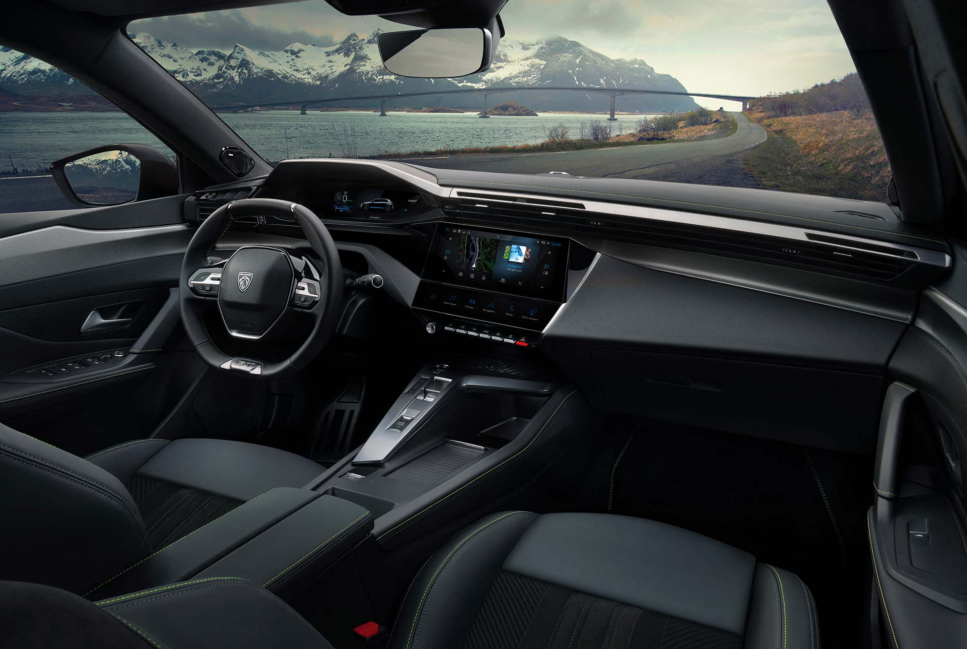 Interior nuevo Peugeot 308 (2021)