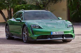 Con ustedes, el Porsche Taycan Cross Turismo