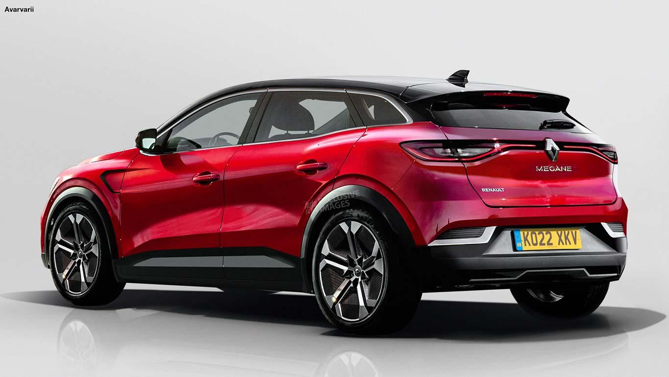Nuevo Renault Mégane SUV render