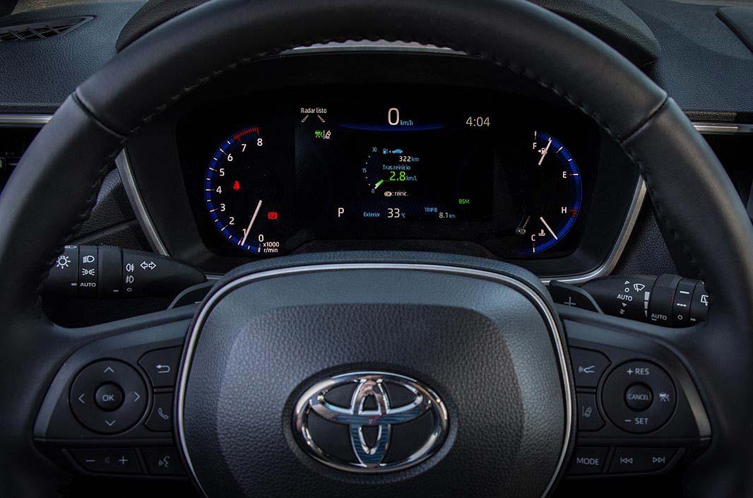 Tablero Toyota Corolla Cross