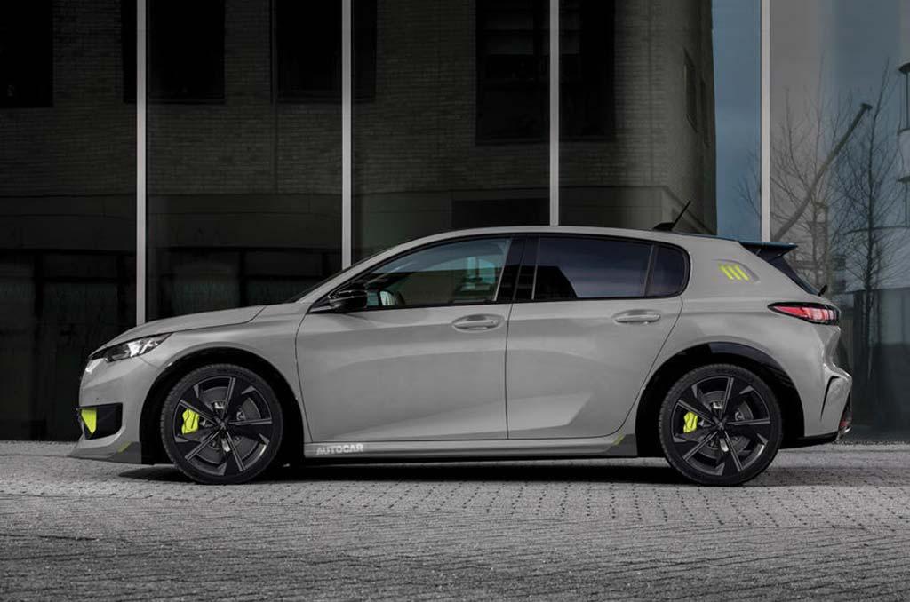 Nuevo Peugeot 308 PSE (2022) render
