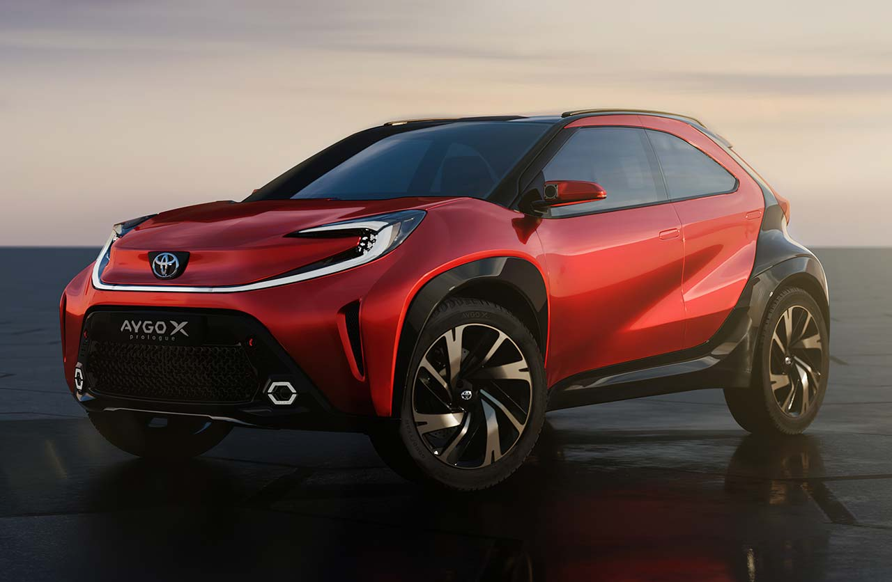 Toyota anticipa un nuevo mini SUV