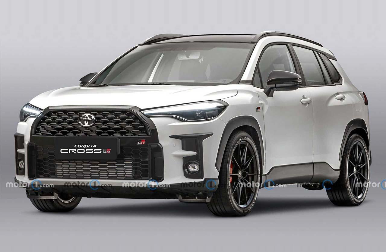 El Toyota Corolla Cross tendrá una versión GR Sport