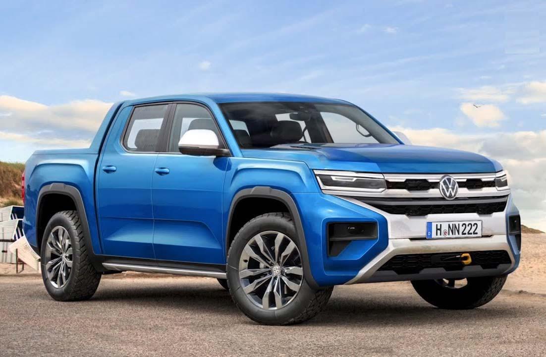 La nueva Volkswagen Amarok, ¿con motor V6 de Ford?