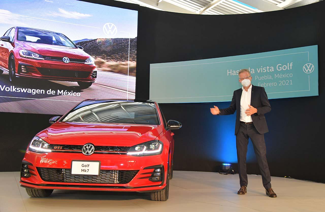 fin producción Volkswagen Golf 7 México