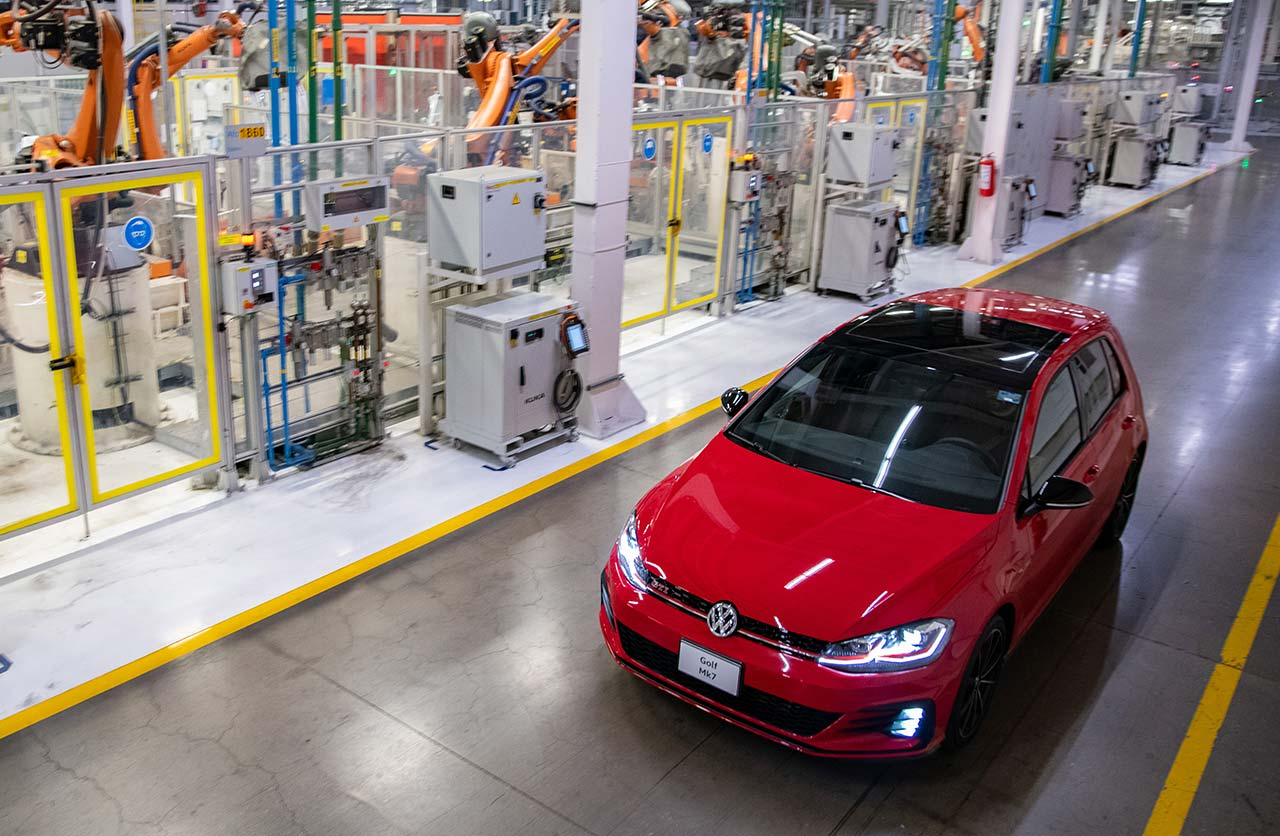 Volkswagen Golf planta Puebla México