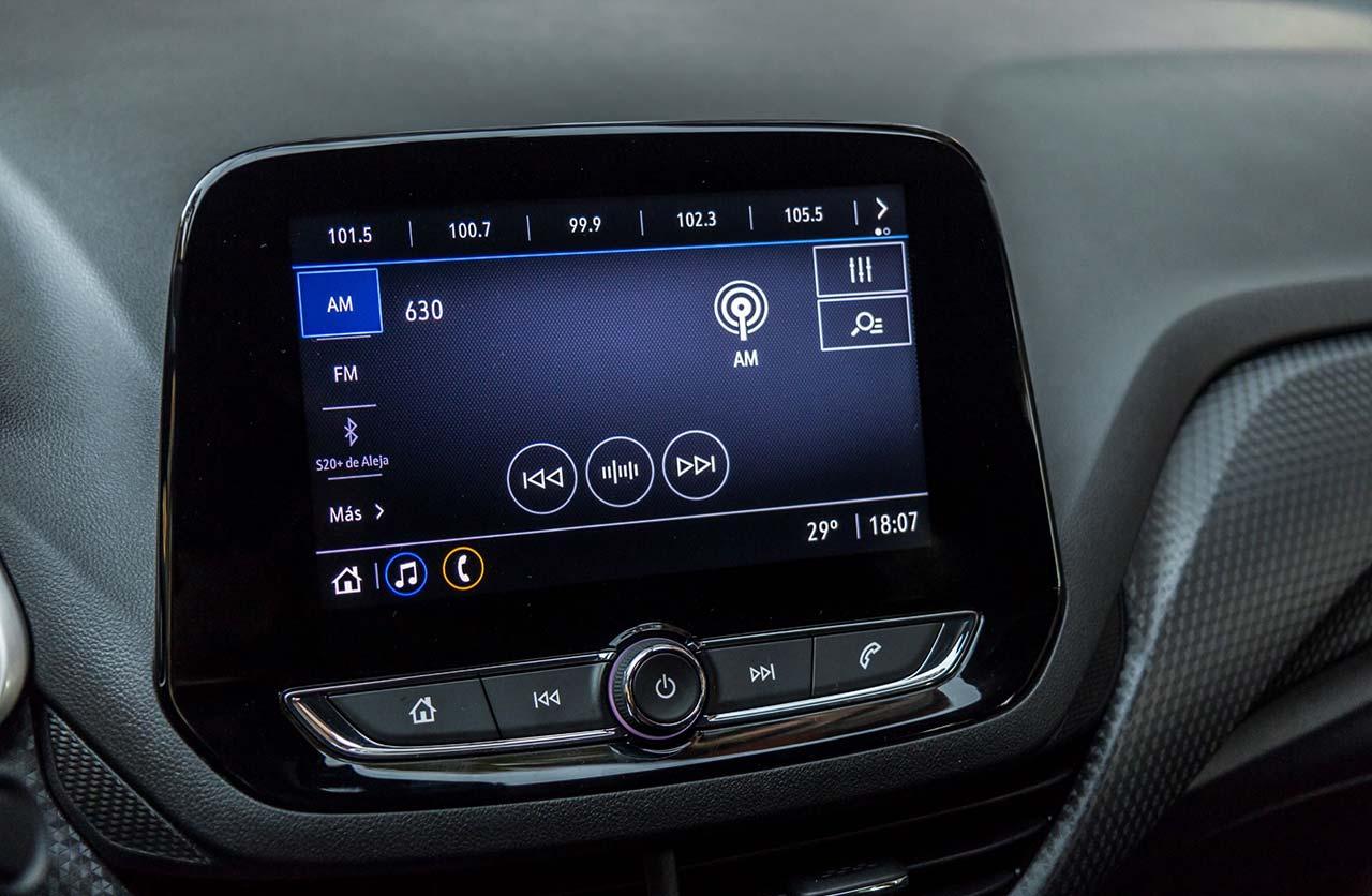 Pantalla Chevrolet Onix 2021