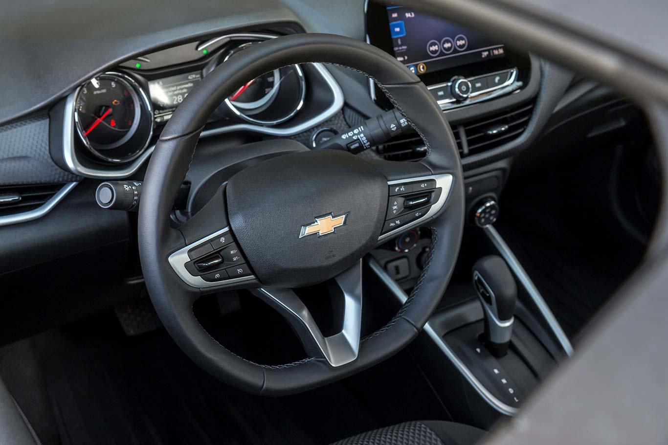Interior Chevrolet Onix 2021