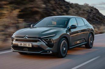 Citroën presentó el nuevo C5 X