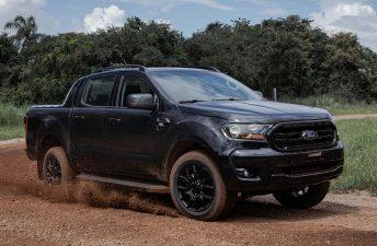 Black, la nueva Ford Ranger