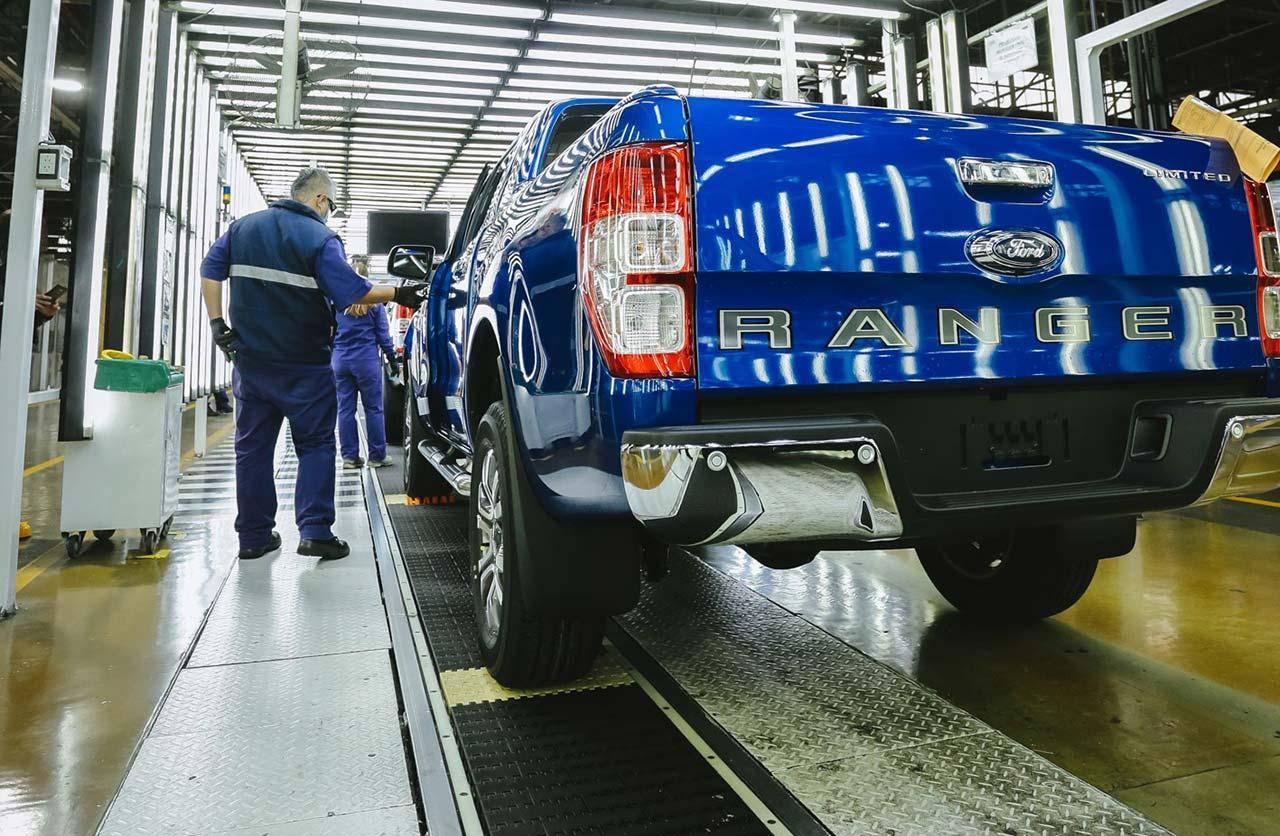 Ford Ranger en Planta Pacheco