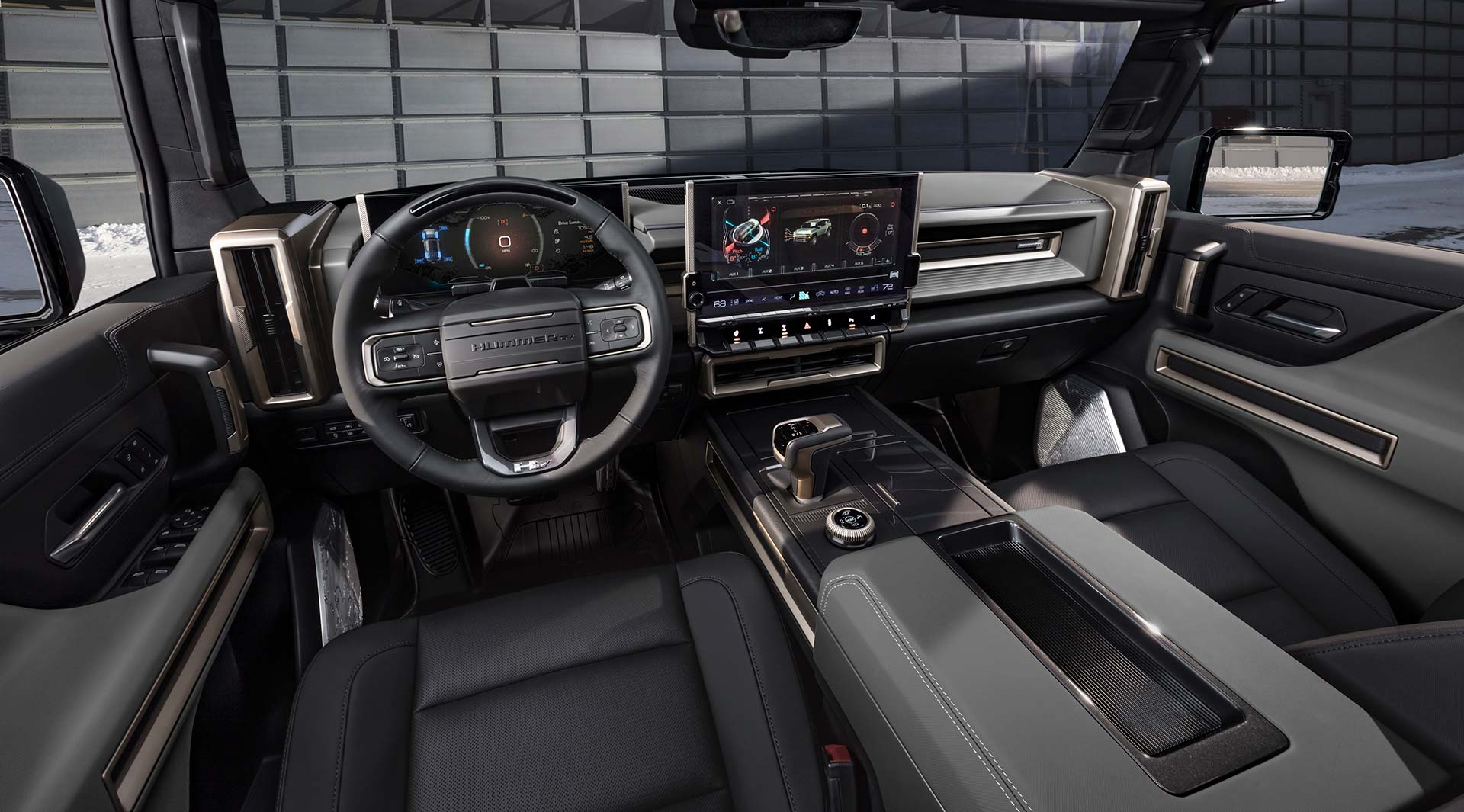 Interior GMC Hummer EV SUV