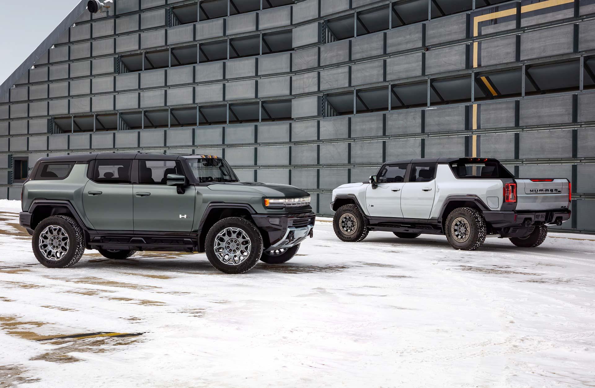 GMC Hummer EV SUV y Pick up