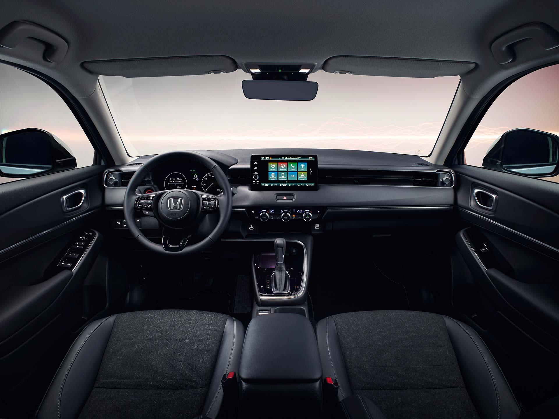 Interior Nueva Honda HR-V 2022
