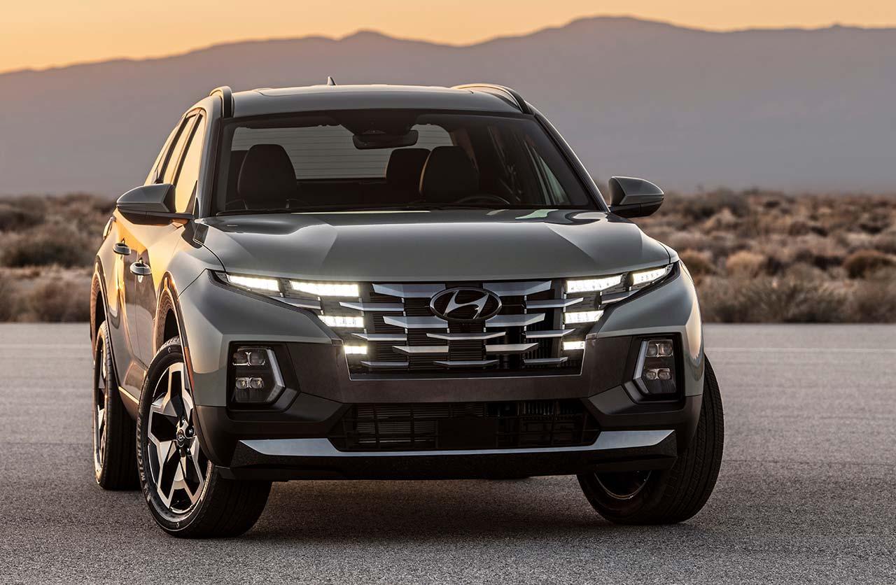 pick up Hyundai Santa Cruz