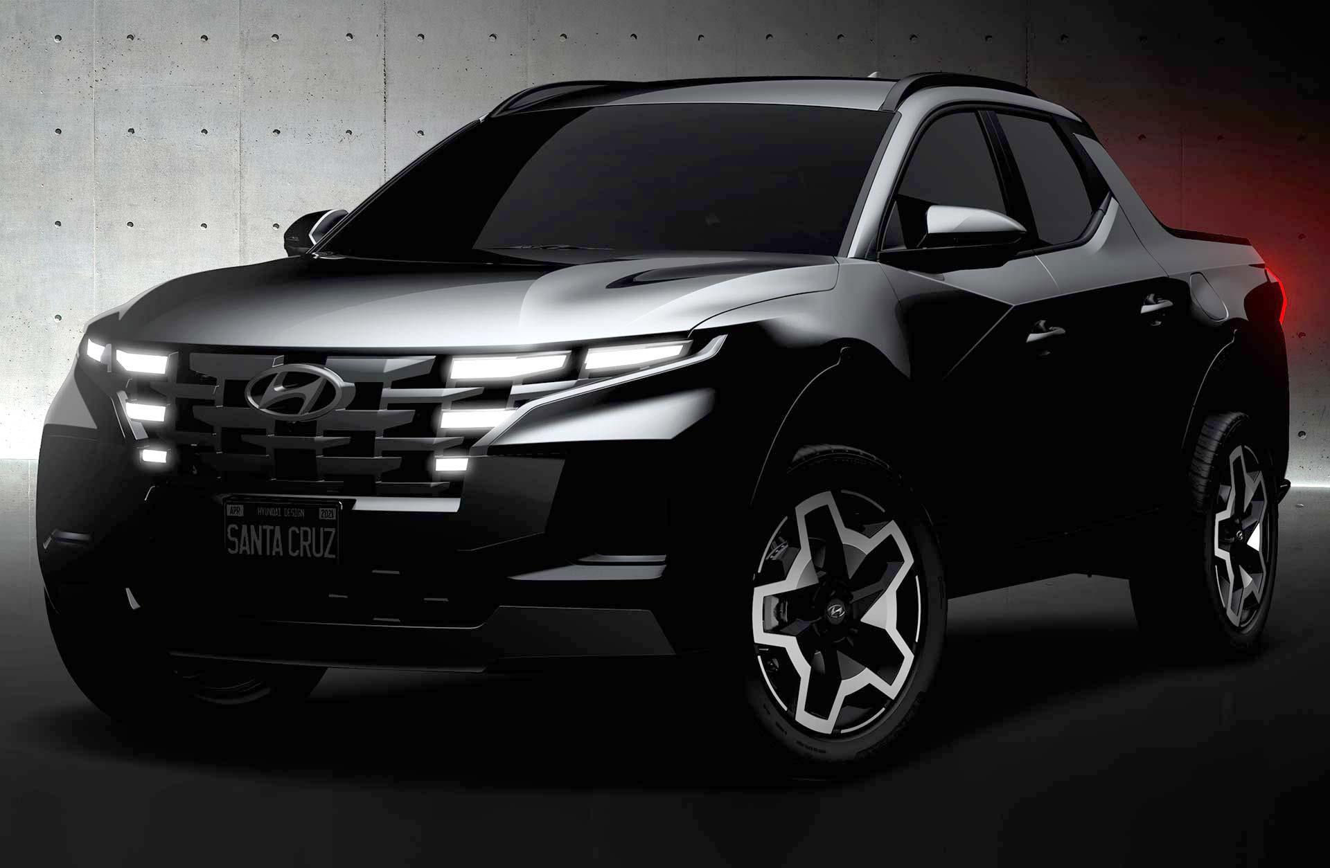 Oficial: así es la Hyundai Santa Cruz