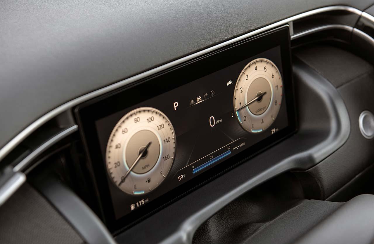 Interior Hyundai Santa Cruz