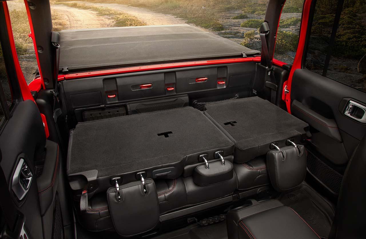Interior Jeep Gladiator