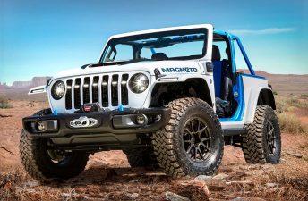 Magneto: se viene el Jeep Wrangler eléctrico