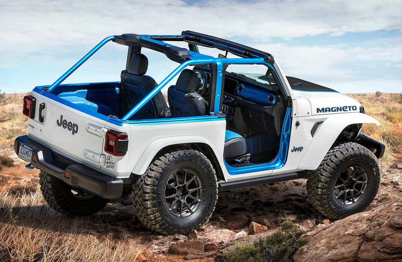 Jeep Wrangler Magneto eléctrico