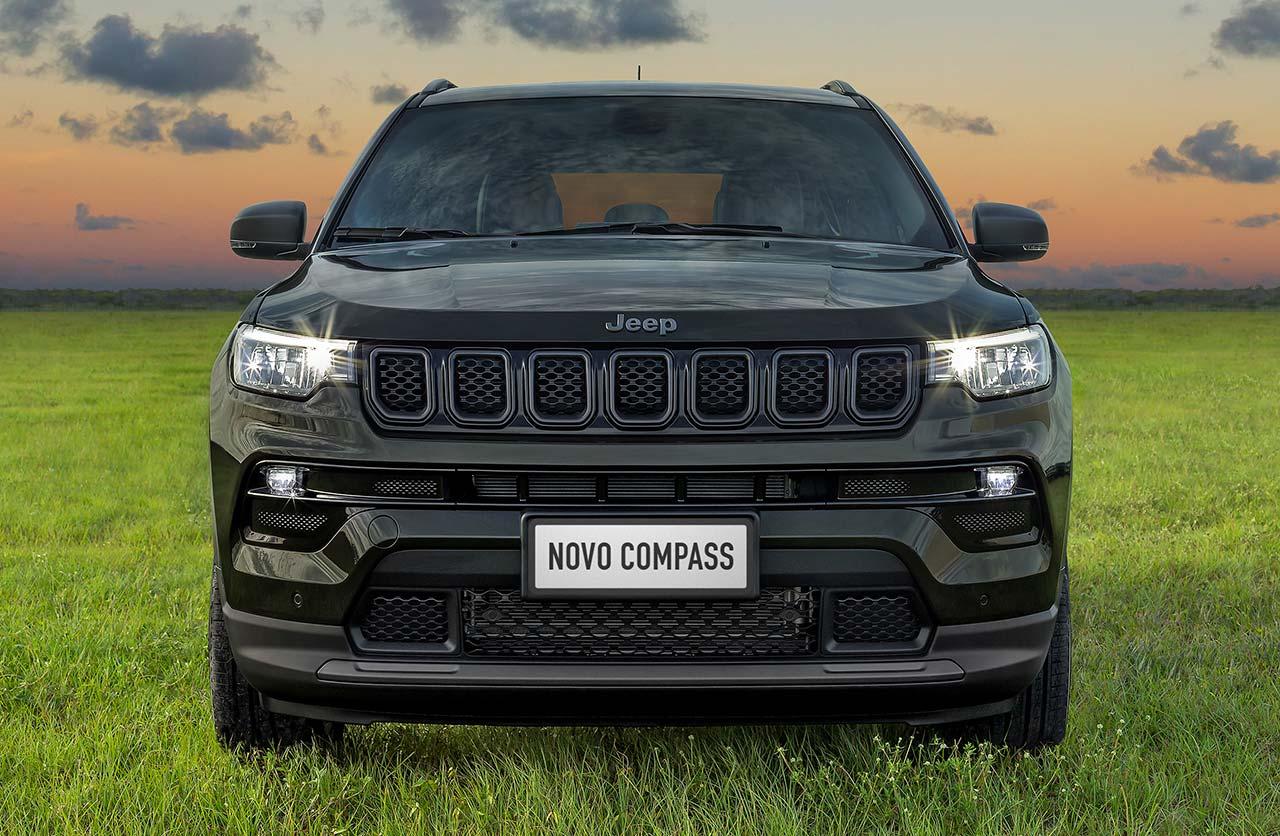 Más detalles del nuevo Jeep Compass regional