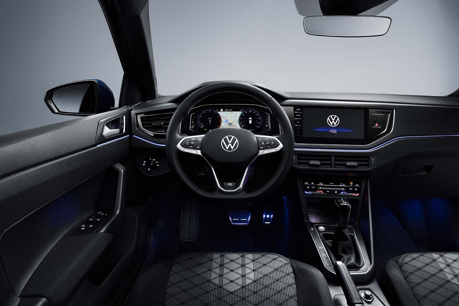 Interior Nuevo Volkswagen Polo 2021