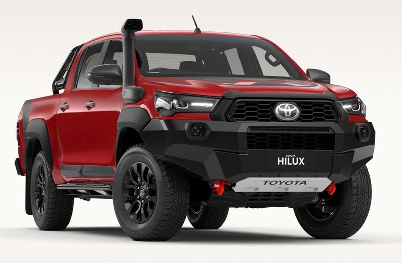 La próxima Toyota Hilux tendría un V6 con más de 300 CV