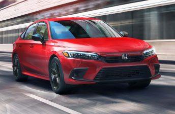 Con ustedes, el nuevo Honda Civic