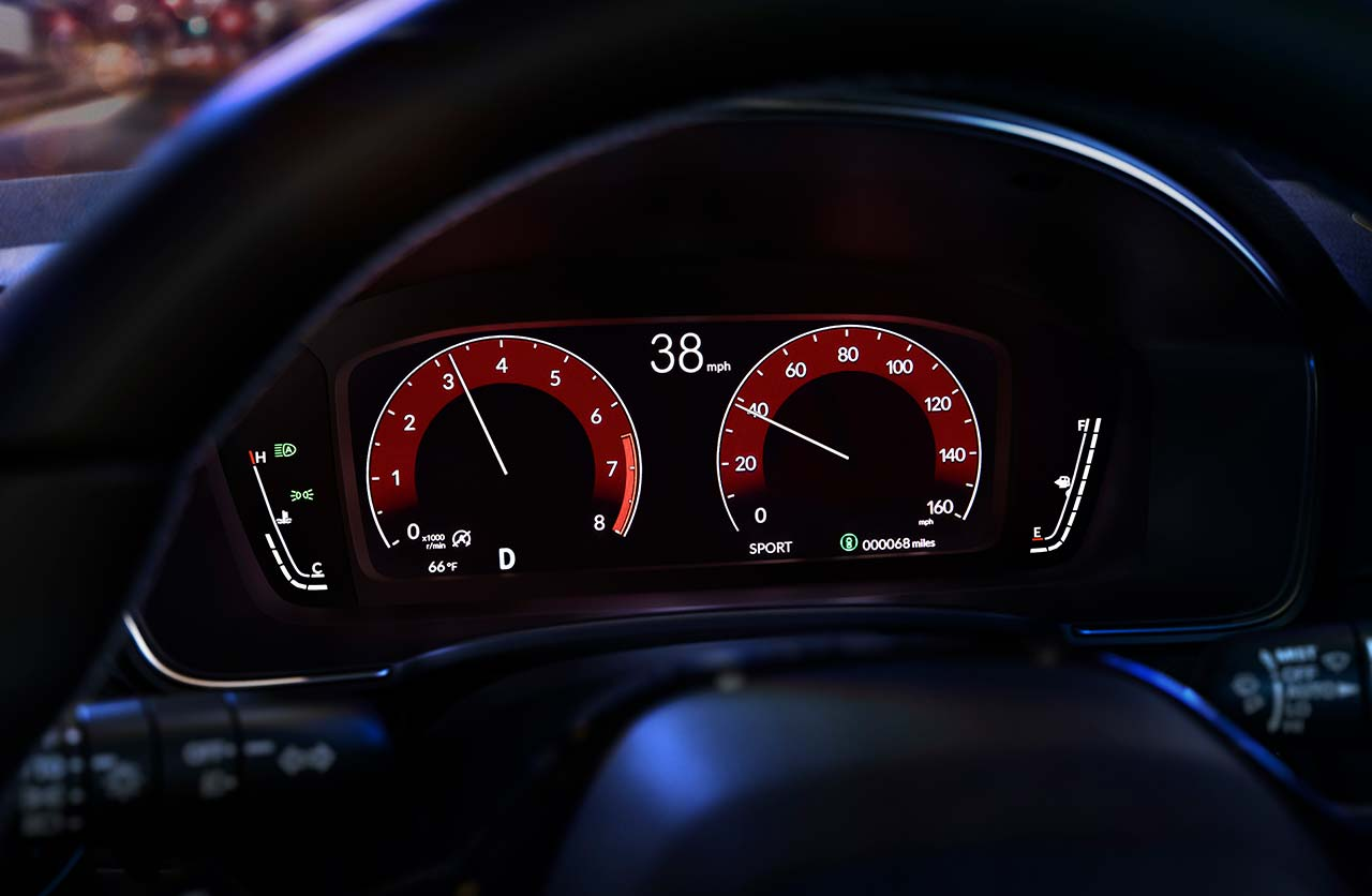 Tablero digital nuevo Honda Civic 2022