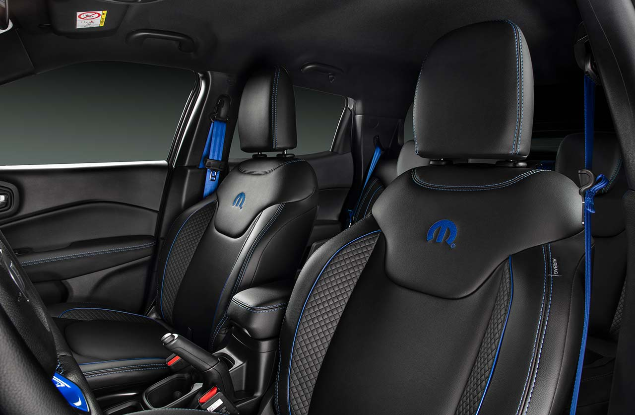 Interior nueva Fiat Toro Mopar