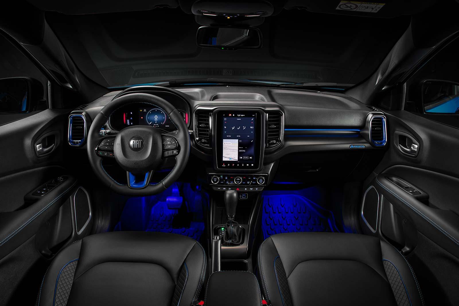 Interior Fiat Toro Mopar