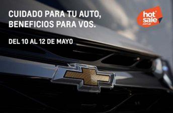 Chevrolet, presente en un nuevo Hot Sale
