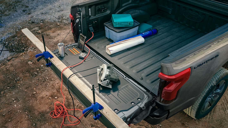 Ford F-150 Lightning Pro eléctrica