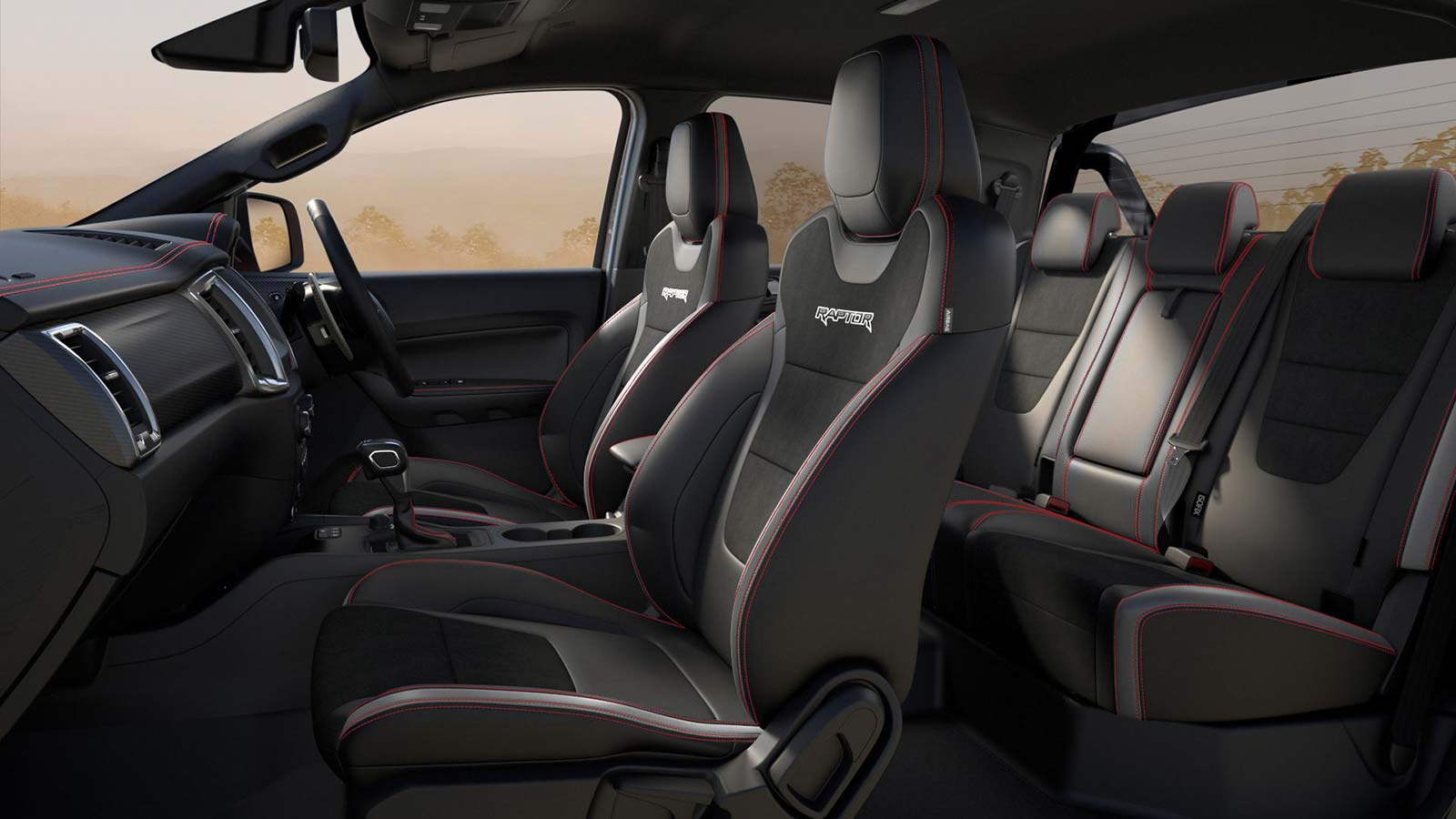 Interior Ford Ranger Raptor X