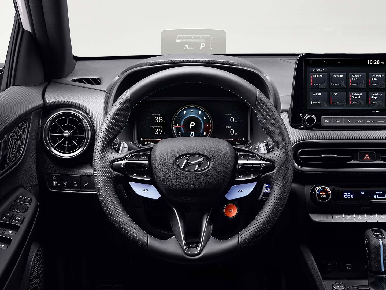 Interior Hyundai Kona N