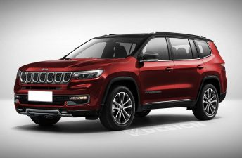 Grand Commander, el nombre del nuevo SUV regional con 7 asientos de Jeep