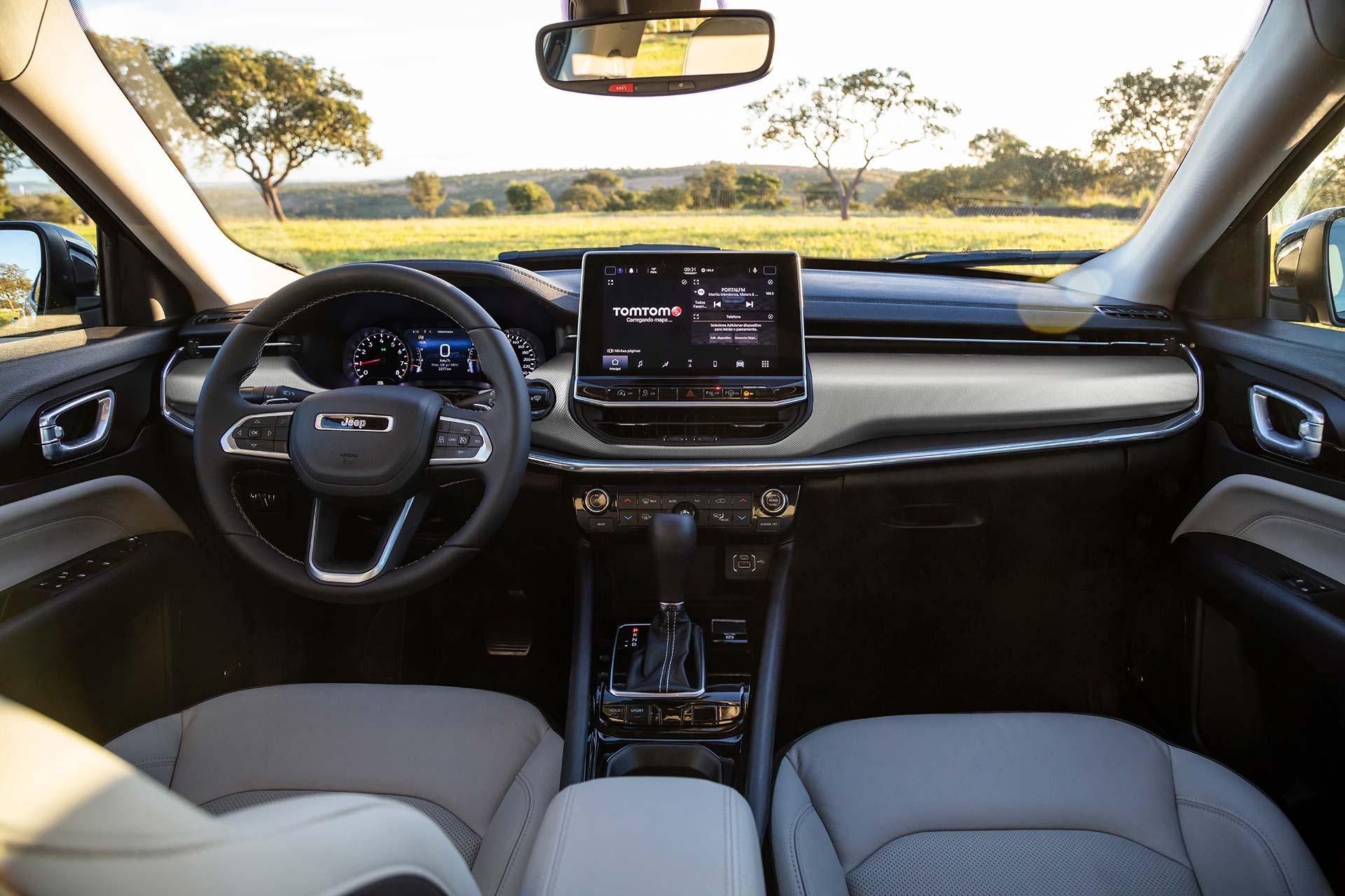 Interior Nuevo Jeep Compass Limited 2022
