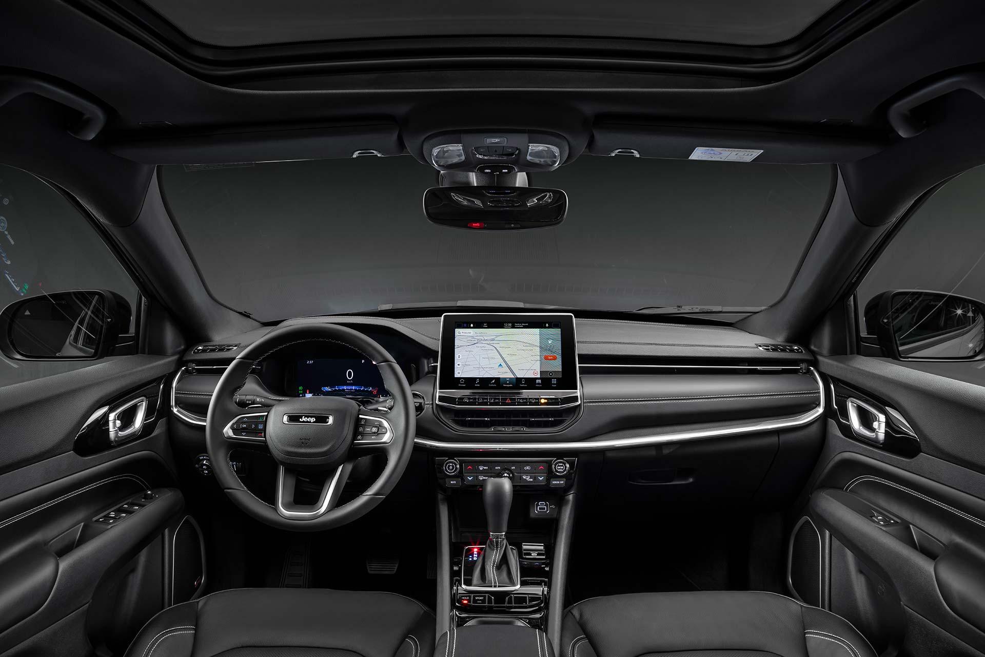 Interior Nuevo Jeep Compass S 2022