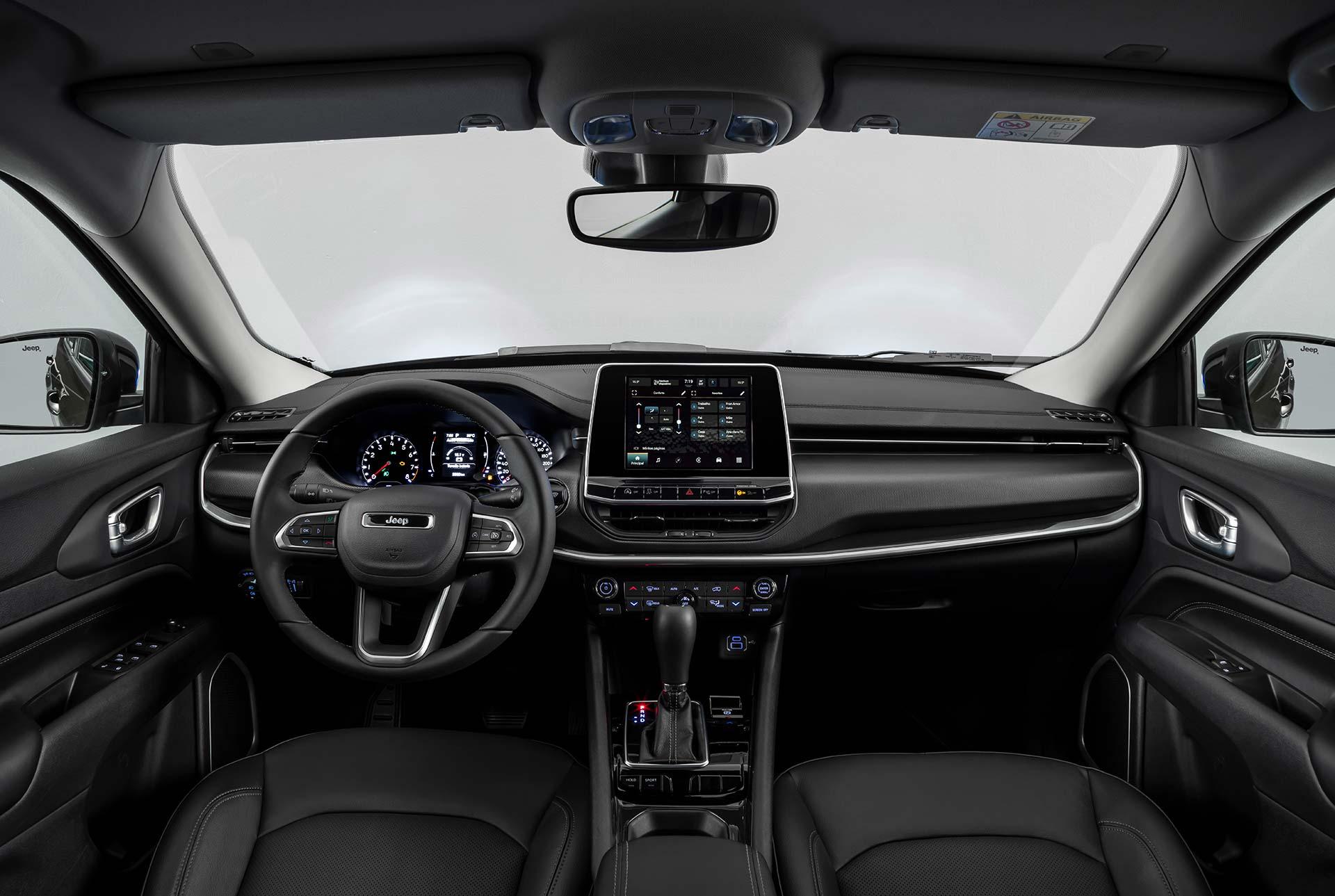 Interior Nuevo Jeep Compass Sport 2022