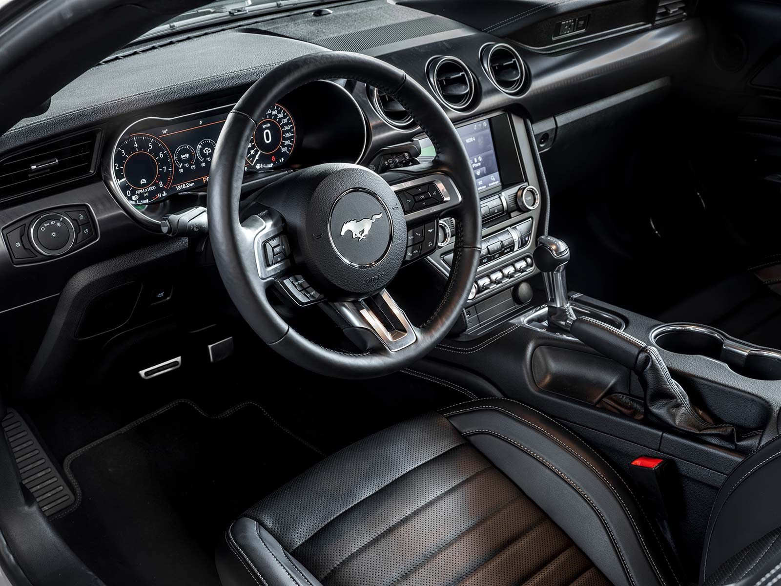 Interior Ford Mustang Mach 1