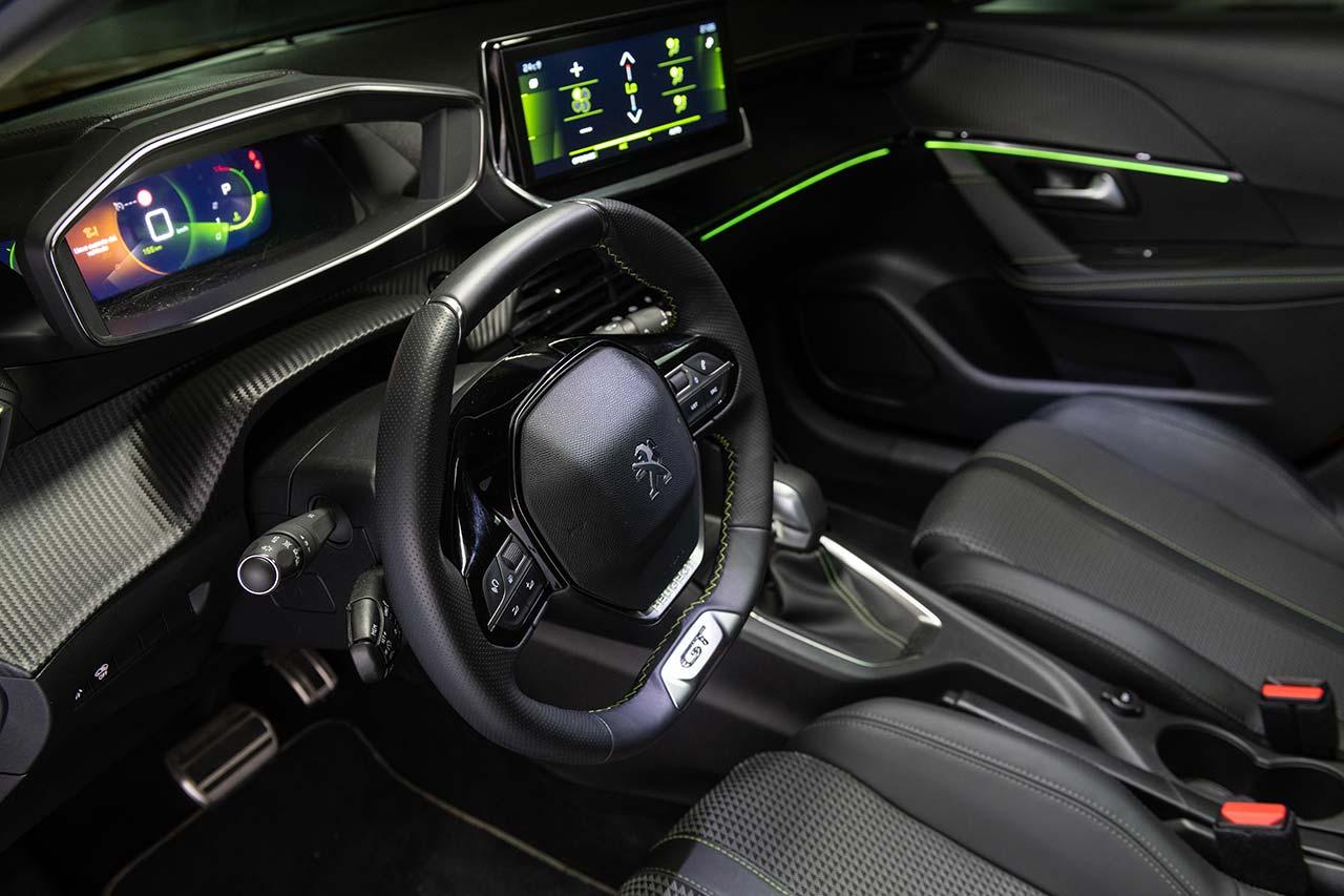 Interior Peugeot 208 GT