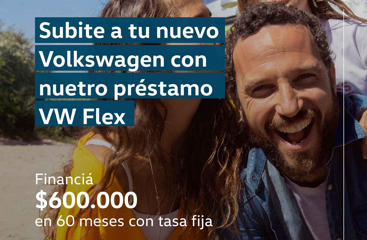 VW Flex, préstamos prendarios