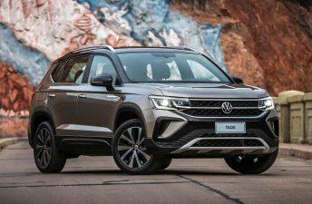 Volkswagen lanzó el Taos nacional