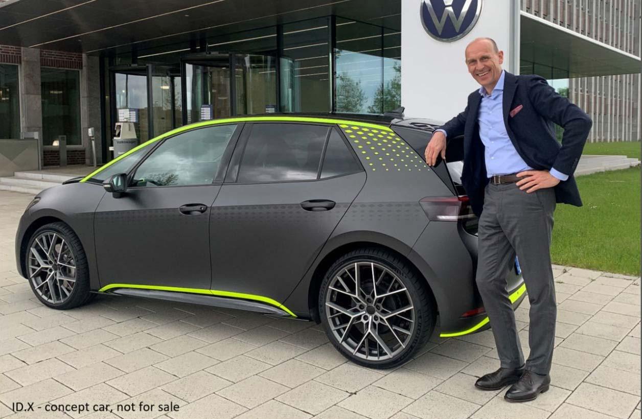 ID.X: el hot hatch eléctrico de Volkswagen